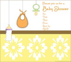 photo custom baby shower invitations image