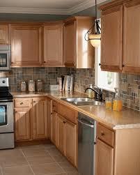 cuisine en chene moderne cuisine chene clair moderne 0 en chene cr233dence de cuisine en