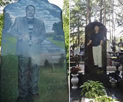 grave stones are na illustrated eastern european gravestones