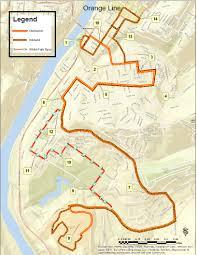 Orange Line Metro Map by Mountain Line Transit Authority U003e Maps U0026 Schedules U003e Routes U003e 4