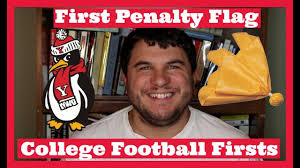 Penalty Flag Football First College Football Penalty Flag College Football Firsts