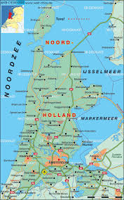 Holland On World Map by Maps Of Netherlands Holland Cities Tourist