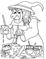100 ideas halloween witch coloring pages on emergingartspdx com