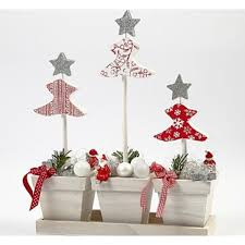 handmade wooden christmas trees christmas lights decoration