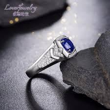 rings for men in pakistan 5 31 grams solid 18k gold 1 50 ct sapphire men s ring in pakistan