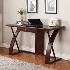 Small Wood Computer Desk Office Winsome Basics Brown Small Computer Desk 2 Open Storage