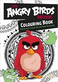 angry birds movie coloring book rovio 9781910916322 amazon
