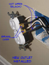 how to install an outlet receptacles electrical repair topics