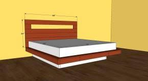 Platform Bed Building Plans Free by How To Build Free Bed Frame Plans Download Free Platform Bed Plans