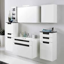 badezimmer komplett set badezimmer komplettset in weiß anthrazit tymos wohnen de