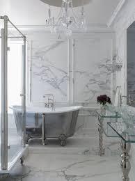 bathroom stunning bath tub surrounded with marble walls u0026 floor