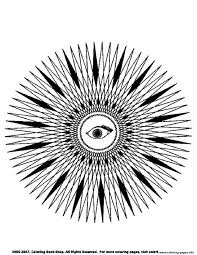 free mandala difficult to print 5 coloring pages printable