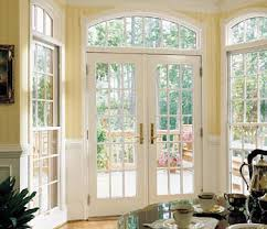 sliding glass french doors outdoor exit reno french style patio doors window on top and on