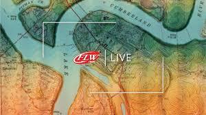 Lake Cumberland Map Flw Fishing Flw Tour 2017 Lake Cumberland
