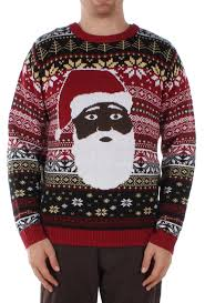 santa sweater black santa the before sweater popcult wear