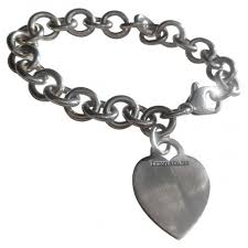 silver chain bracelet with heart images Tiffany chain bracelet tiffany co link bracelet with heart tag jpg