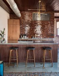 shabby chic hotel with exposed brick walls u0026 industrial lighting