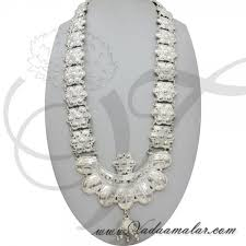 white metal necklace jewellery india odissi tribal ornaments