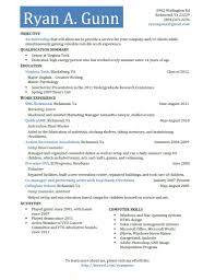 How To Write A Resume For Kids How To Make A Resume For College Getessay Biz