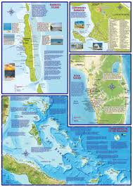 Map Bahamas Eleuthera Island Bahamas Dive U0026 Adventure Map Franko Maps Franko