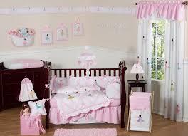 pink ballerina baby crib bedding 9pc nursery set ballet dancers