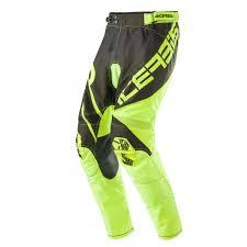 green motocross gear acerbis mx pants x gear fluo yellow black 2017 maciag offroad