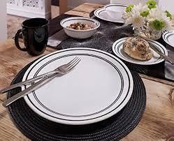 corelle black friday deals 2017 amazon com corelle livingware 16 piece dinnerware set classic