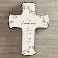 personalized crosses personalized the blessing of the of a family gift ideas