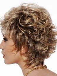 curly hair styles short layered haircut women hairstyle trendy