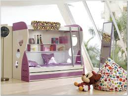 bedroom white wooden bunk bed with cream pink bedding set plus loft design for ideas