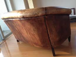 canapé disponible immédiatement canapé en cuir 2 places style dover l145 l100 h80 150