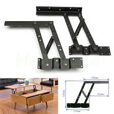 Flip Up Coffee Table 2pcs Lift Up Top Coffee Table Lifting Frame Mechanism Spring Hinge