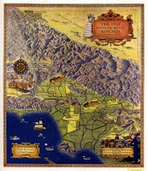 Study Of Maps Tongva People A Dynamic Study Of The Villages And Locations Of