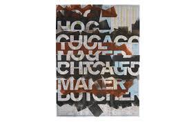 Chicago Map Art by Design Education Instigation Designer