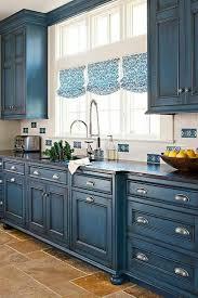 meuble cuisine bleu 1001 idées pour une cuisine bleu canard les intérieurs qui