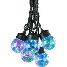 gemmy lightshow christmas lights 45ct led projection lights with