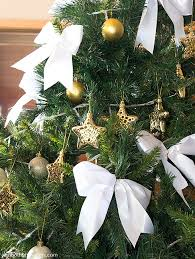White Bows For Tree A Thousand Words R S Handmade Display