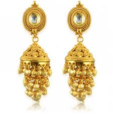 new jhumka earrings new designer golden bareilly jhumka earrings caymancode