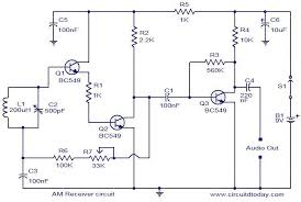 am receiver circuit electronic circuits and diagram electronics