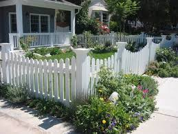 White Backyard Fence - privacy fence ideas front yard pilotproject org