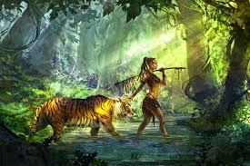 magic tiger jungle wallpapers