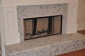 marble tile fireplace binhminh decoration