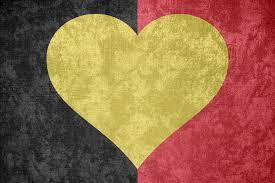 Belgia Flag K Of Belgium Grunge Heart Flag By Undevicesimus On Deviantart