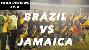How Many Stars In Brazil Flag Yaad Reviews Brazilian All Stars Vs Jamaica All Stars Youtube