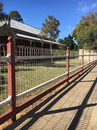 ornamental loop fencing galvanized 8 wire 100 roll x 50 t