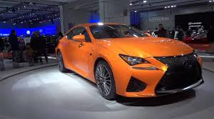 lexus coupe 2015 2015 orange lexus rc f coupe exterior walkaround beautiful car