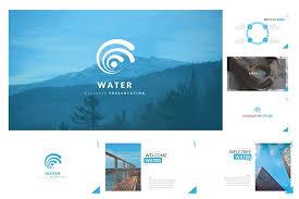 water keynote template presentation templates creative market