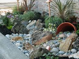 landscape with rocks design home ideas pictures homecolors
