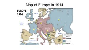 Map Of Europe In 1914 by Wwi Causes And Steps Main Causes Of Wwi Militarism Alliances