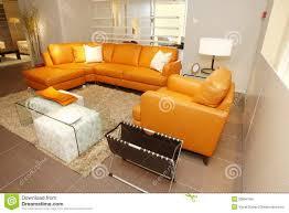 Orange Leather Sofa Orange Leather Sofa With Ideas Image 1385 Imonics